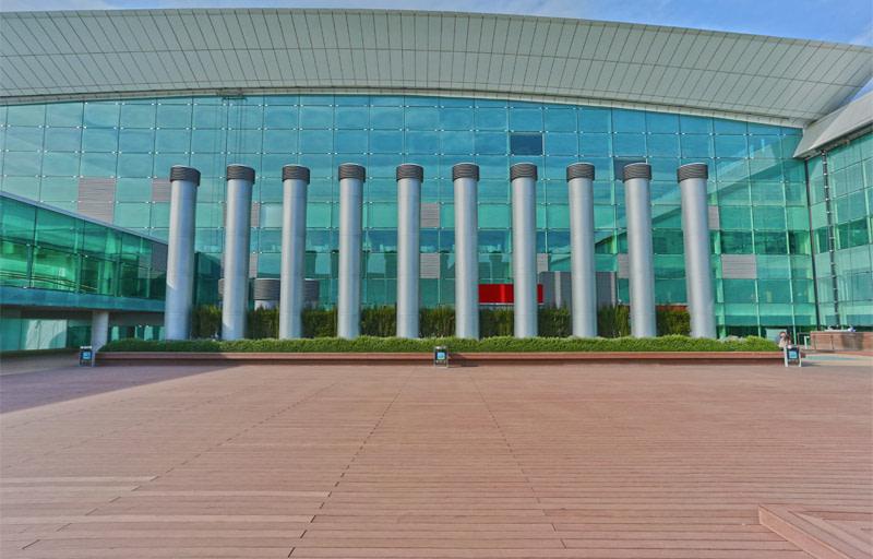 RODTAG Produtora Fotografia de arquitetura aeroporto de Barcelona fachada