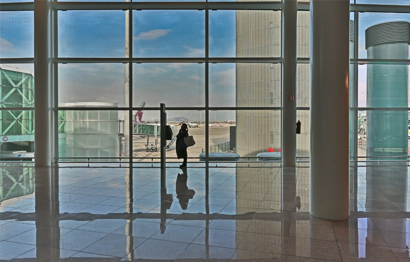 RODTAG Produtora Fotografia de arquitetura aeroporto de Barcelona